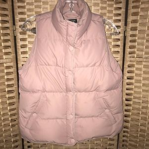 J. Crew down filled quilter puffer ski vest